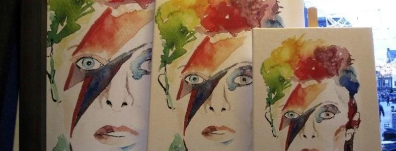 David Bowie - bij Stips