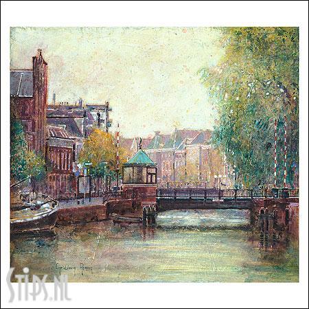 Museumbrug – kunstkaart Christiaan Afman