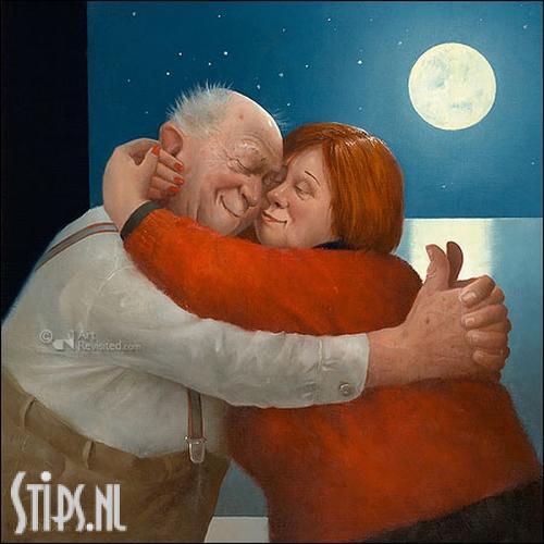 Volle Liefde – kunstkaart Marius van Dokkum