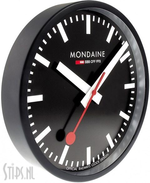 Mondaine Railway Clock – Black