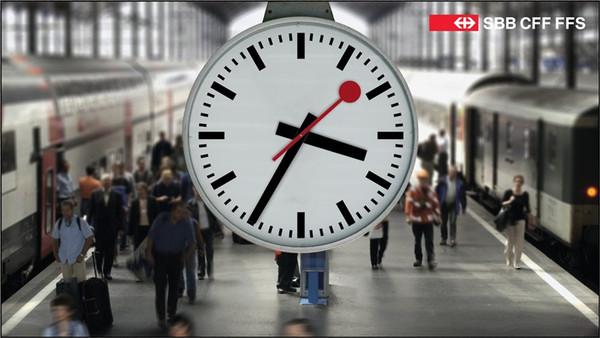 Mondaine Railway Station klok
