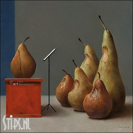 Gemengd Koor – kunstkaart Marius van Dokkum