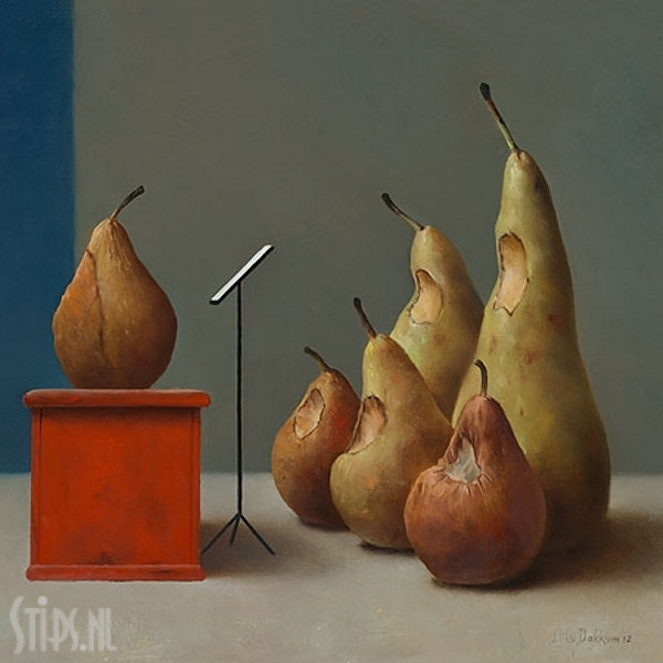 Gemengd Koor – Marius van Dokkum – Giclee