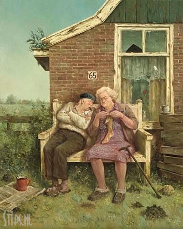 Liefde vergaat niet – Marius van Dokkum – Giclee