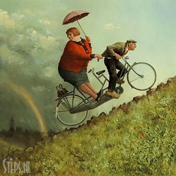 Weerstandem – Marius van Dokkkum – Giclee