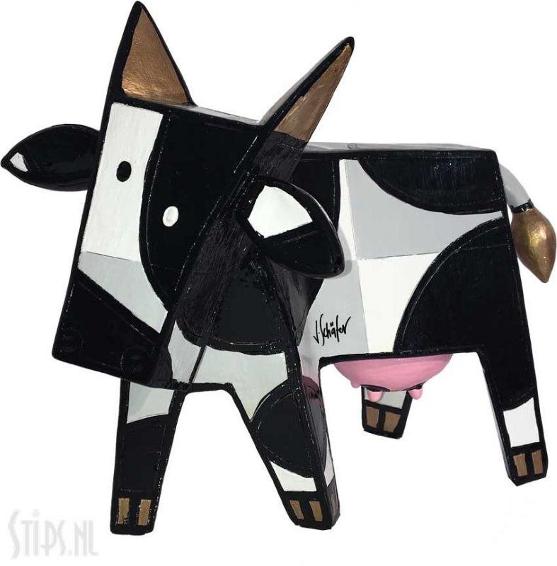 Happy Cow Black White –  Jacqueline Schäfer