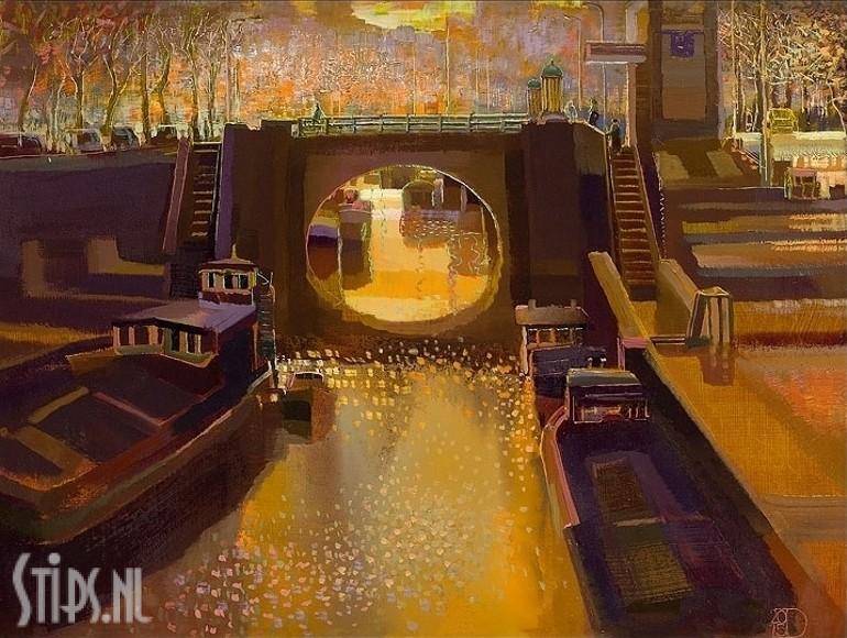 Sunset – Ton Dubbeldam – giclee