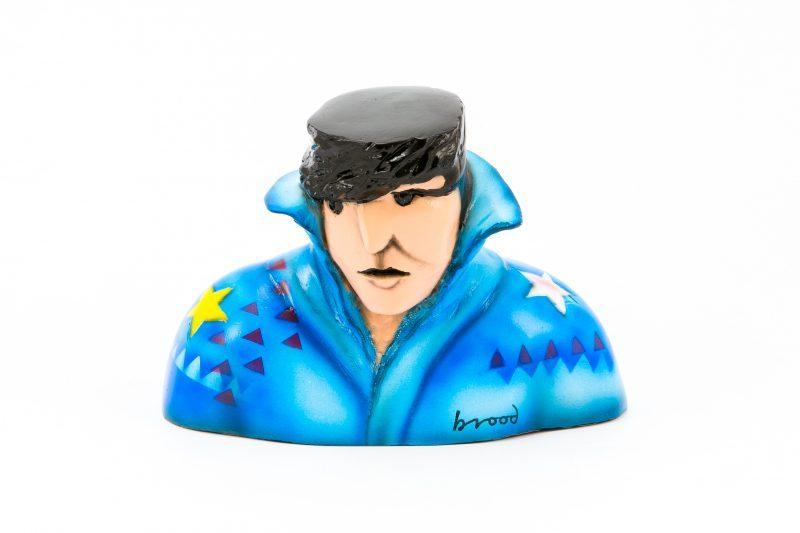 Elvis – Herman Brood – 3-D gallery art