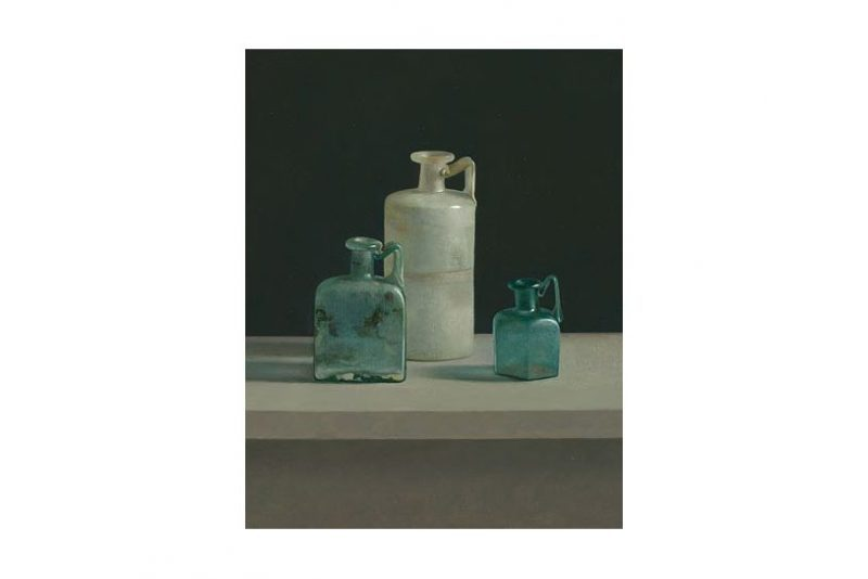 Romeins glas – Limburgs Museum Venlo – jaarkalender 2018 helmantel