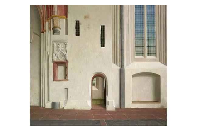 de noordmuur van de Nicolaikerk in Appingedam – jaarkalender 2018 helmantel