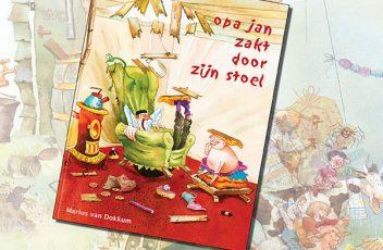 opa jan zakt door zijn stoel flyer- marius van dokkum