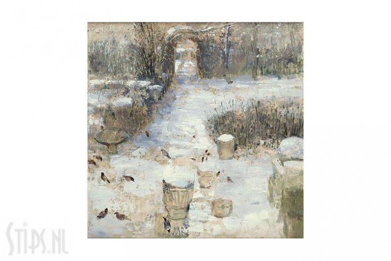 Tuin in Ezinge winter kalender Matthijs Röling