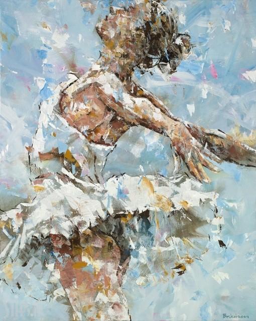Ballerina in Blue – Dorus Brekelmans – Giclee