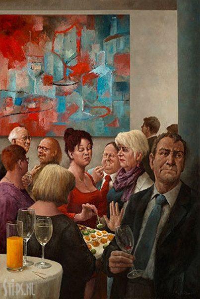 Hapje en drankje – Marius van Dokkum