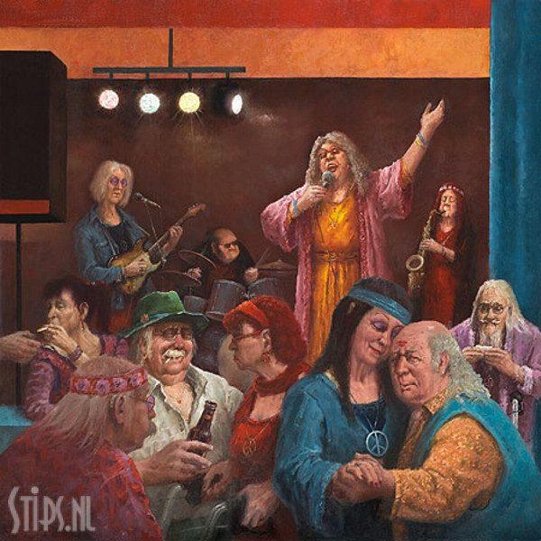 Hippie Reünie – Marius van Dokkum