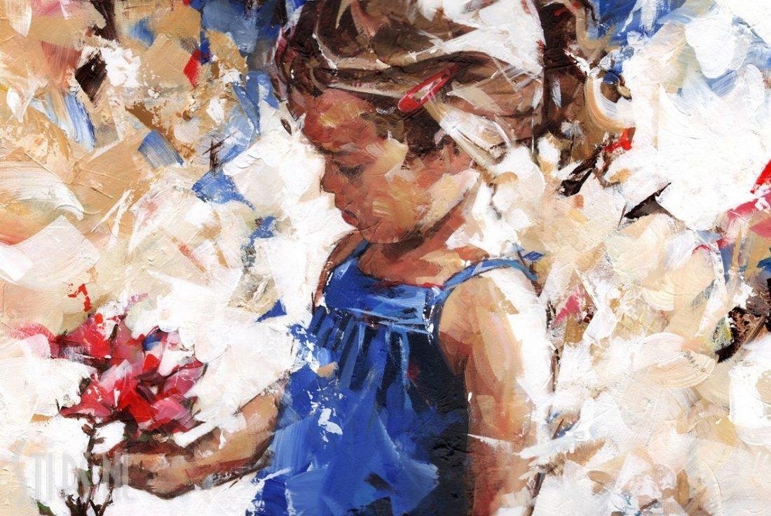 Lentebloempje – Dorus Brekelmans – Giclee