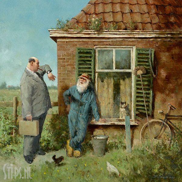 Rijke mensen – Marius van Dokkum
