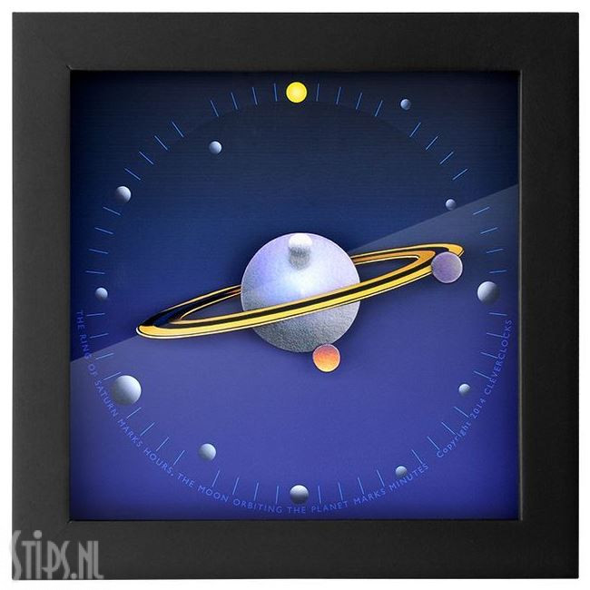 Saturn – Cleverclock – Douglas Chalk