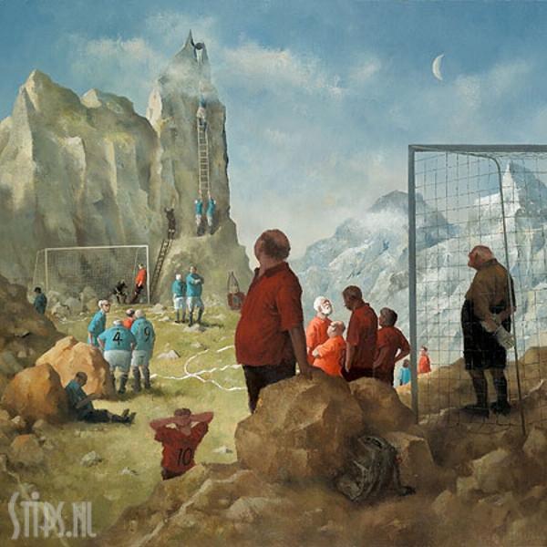 Topvoetbal – Marius van Dokkum – giclee