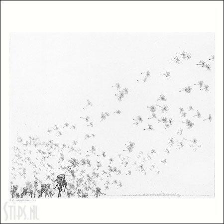 Windvlaag – kunstkaart Reinder Homan