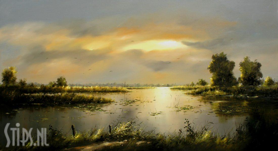 Rivierlandschap – Jan Kooistra – Giclee