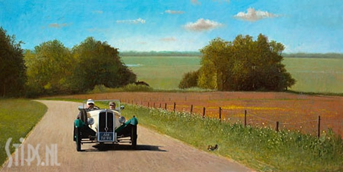 BSA 1933 – Martin Sijbesma – giclee
