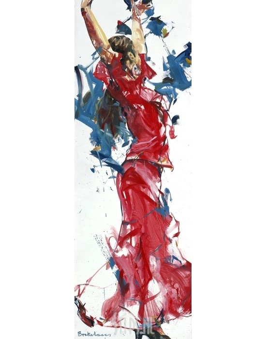 Flamenco I – Dorus Brekelmans – giclee