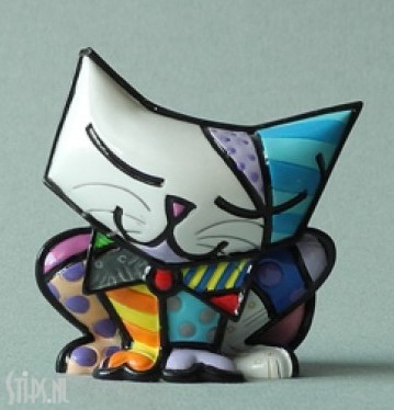 cat sugar – 5 cm – romero britto