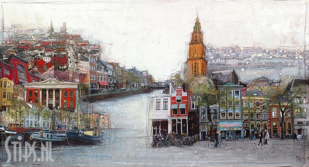 Groningen Martinistad – Mrs More – giclee