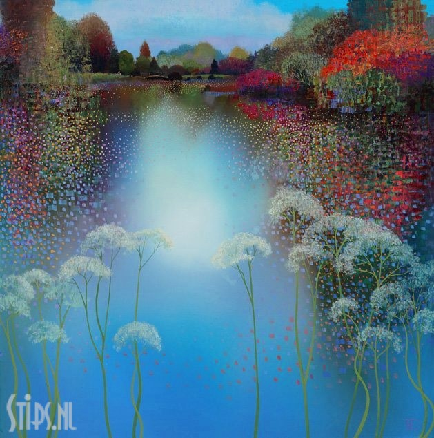 The Park Spring Reflection – Ton Dubbeldam – giclee