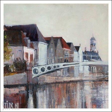 Dokkum – kunstkaart Hiske Wiersma