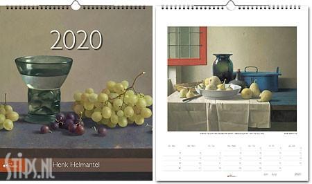 Henk Helmantel jaarkalender 2020