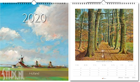 Holland jaarkalender 2020