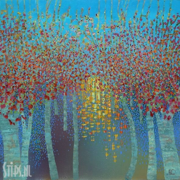 Sunset Reflection – Ton Dubbeldam – giclee