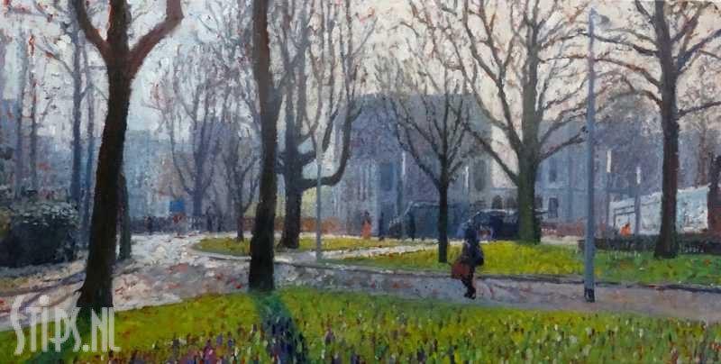 Heresingel in voorjaar – Annemiek Vos