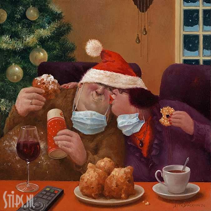Kerstknuffel – Marius van Dokkum